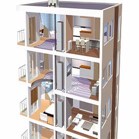 Casa en constructor suelo radiante navarra de agua - Suelo radiante polytherm ...